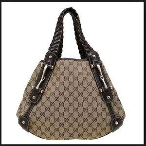 Like New GUCCI Pelham Horsebit Bag